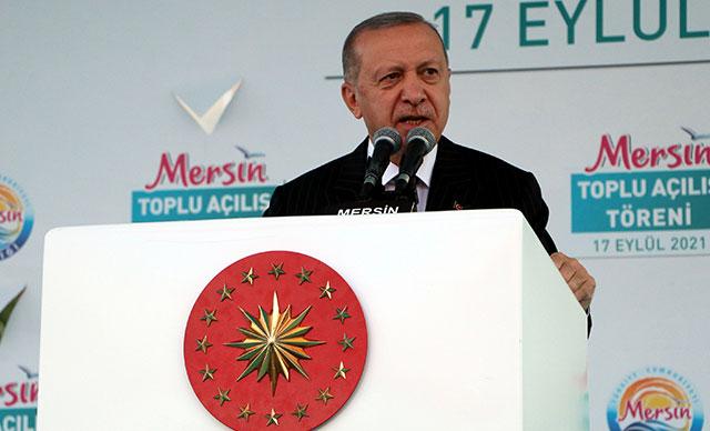 Cumhurbaşkanı Erdoğan: Akkuyu Nükleer Santrali 1'inci ünitesi 2023'ün Mayıs ayında tamamlanacak