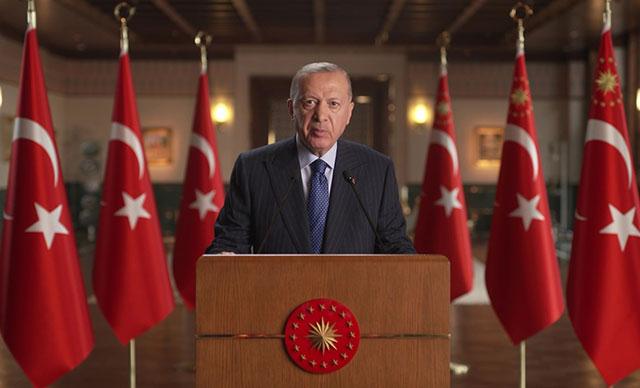 Cumhurbaşkanı Erdoğan: TURKOVAC'ı en kısa zamanda seri üretime geçirmeyi taahhüt ediyoruz