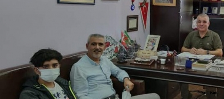 Hacıbektaş Belediye Başkanı Altıok'tan CHP'li Ramis Topal'a ziyaret