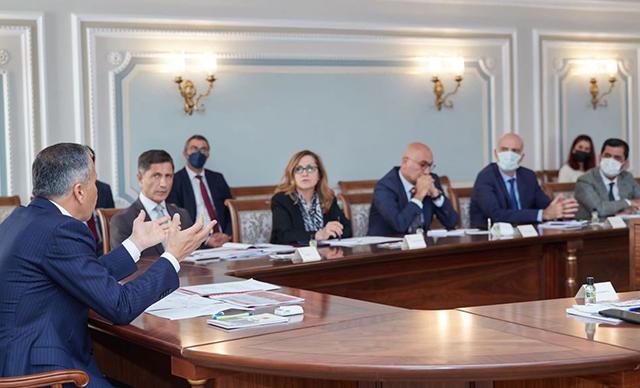 İstanbul Valiliği'nde üniversite rektörleriyle arsa değerlendirme toplantısı